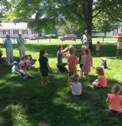 Dance Party with Ashley Hensel on the Weston Green
