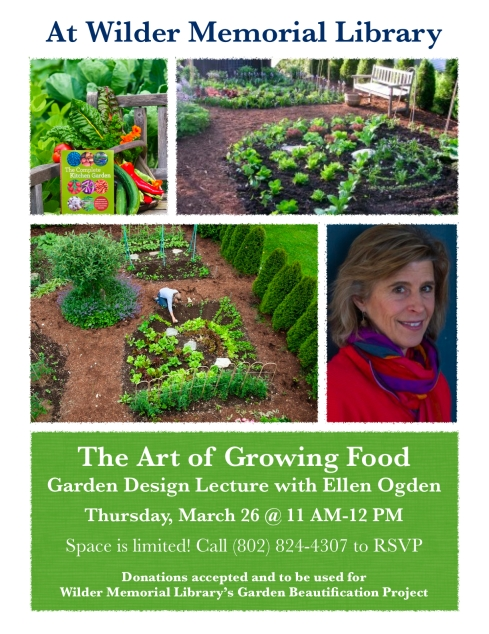 2015 Art of Growing Food Flyer